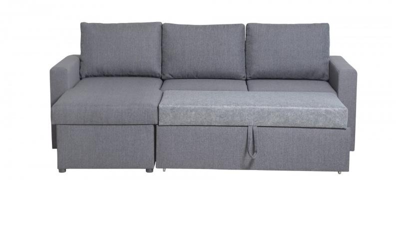 угловой диван кровать Angelo с ящиком для белья универсальная с 3